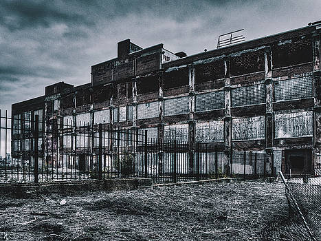 Cruel World - Abandoned Building In St. Louis, MO. by Dylan Murphy