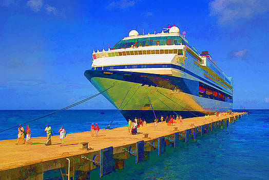 Dennis Cox WorldViews - Cruise Ship Dock