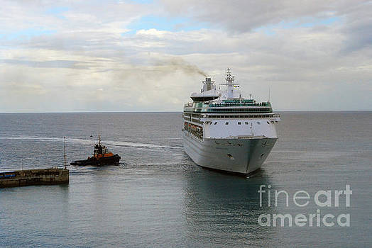 Gary Wonning - Cruise ship
