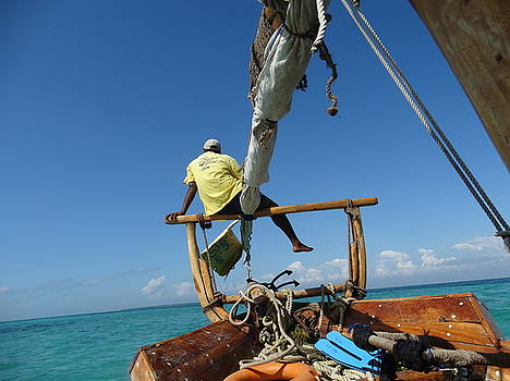 Cruising on the Indian Ocean by Sandra Durning
