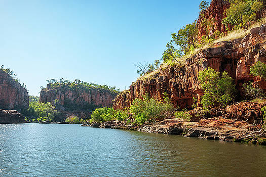 Cruising on the River at Katherine Gorge, Northern Territory, Australia by Daniela Constantinescu