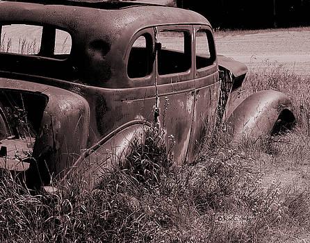 Crumbling Car by Kae Cheatham
