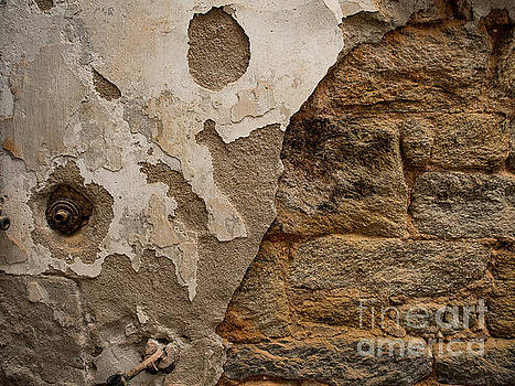 Crumbling Wall by Valerie Morrison