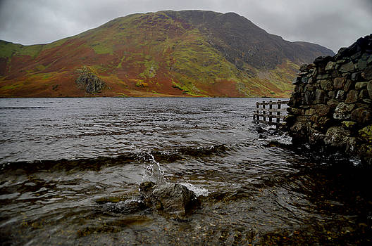 Crummock Splash by Sarah Couzens