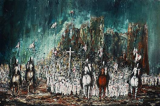 Marching Out by Kaye Miller-Dewing
