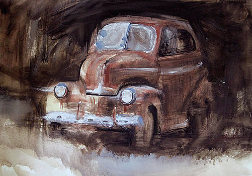 Cruzyn - old car by Susie Gordon