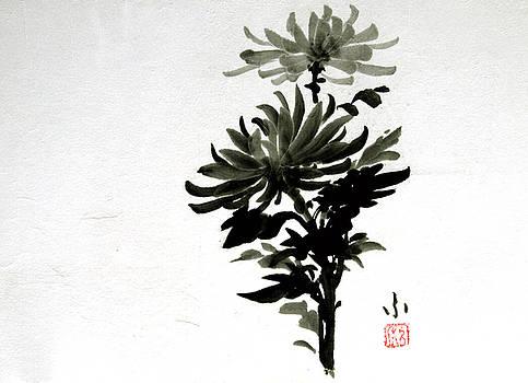 Crysanthemums by Fumiyo Yoshikawa