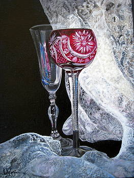 Crystal and Lace by LaVonne Hand