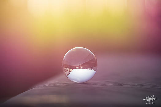 Crystal ball by Adnan Bhatti