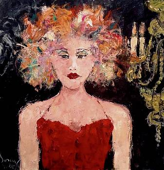 Crystal Chandlier by Sandy Welch