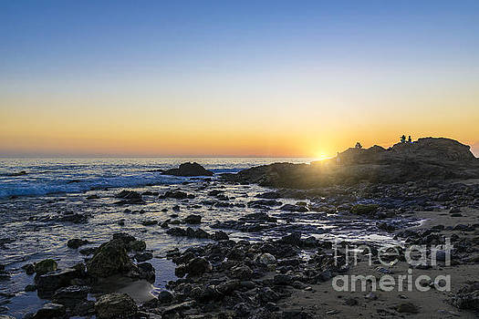 Crystal Cove Sunset by Anthony Baatz
