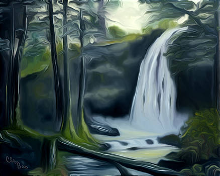 Claude Beaulac - Crystal Falls In The Black Forest Dreamy Mirage