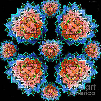 Crystal flowers by Jesus Nicolas Castanon