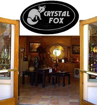 Crystal Fox Gallery side entrance by Daryl Stokes