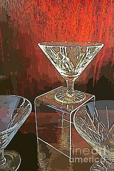 John Malone - Crystal Glass Abstraction
