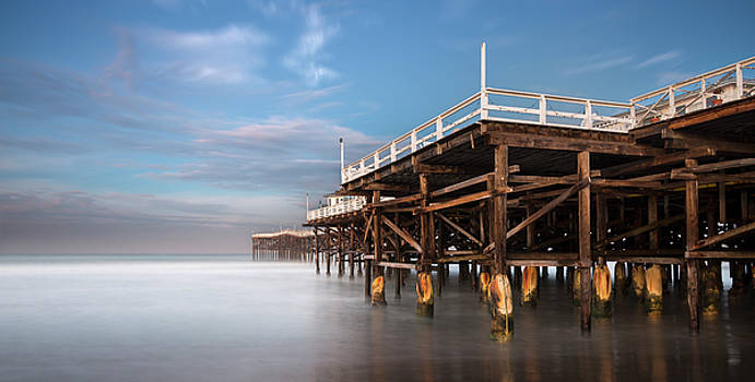 Crystal Pier Cool Night by William Dunigan