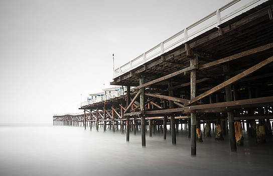 Crystal Pier Hazy Morning by William Dunigan