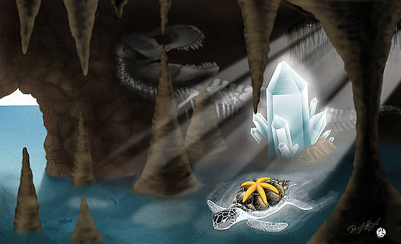 Crystal Sea Cave by Devaron Jeffery