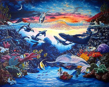 Crystal Shore by Daniel Bergren