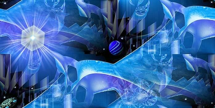 Crystal Universe by Romuald  Henry Wasielewski