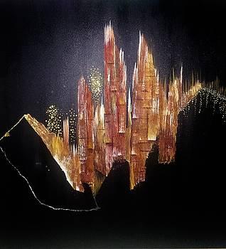 Crystals by Dalal Farah Baird