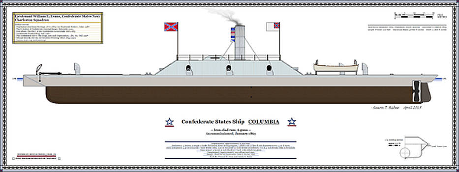 CSS Columbia Color Profile by Saxon Bisbee