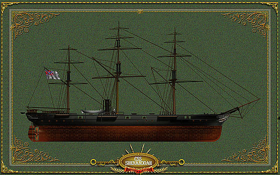 CSS Shenandoah by The Collectioner