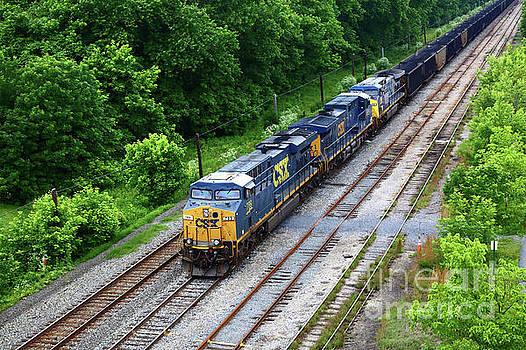 James Brunker - CSX Coal Train at Brunswick Maryland