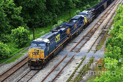 James Brunker - CSX Diesels at Brunswick Maryland