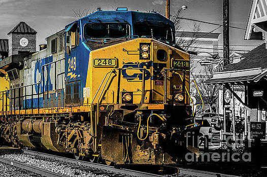 CSX Engine Gaithersburg MD by Thomas Marchessault