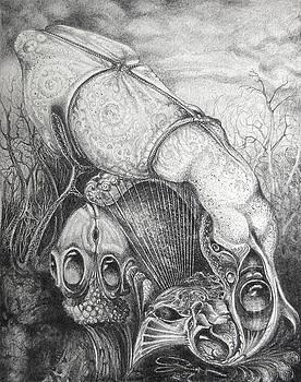 Ctulhu Seedpods by Otto Rapp