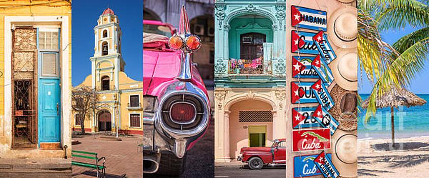 Delphimages Photo Creations - Cuba collage