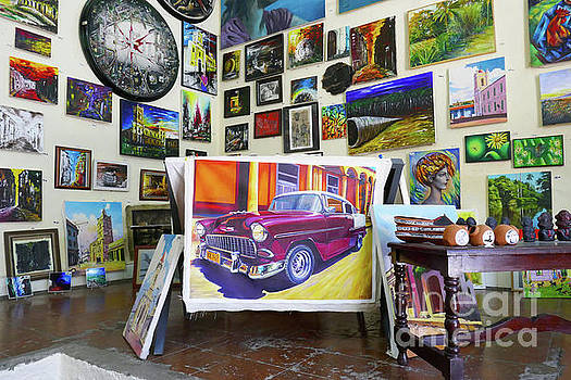 Wayne Moran - Cuba One Artists Studio