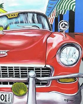 Cuba Taxi - 01 by Dean Glorso