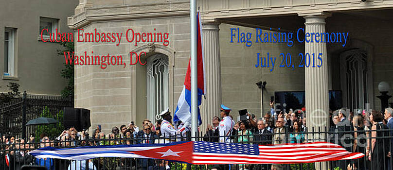 Jost Houk - Cuban Embassy Opening