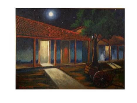 Cuban night by Jean Pierre Bergoeing