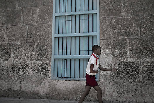 Cuban Schoolboy by David Chasey