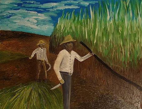 Cuban Sugarworkers by Gunter  Tanzerel
