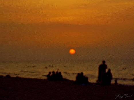 Cuban Sunset by Yamy Morrell