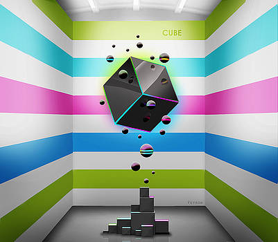 Cube 002 by Alaxander Sazanov