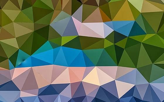 Cubism Wallpaper by Azat Widken