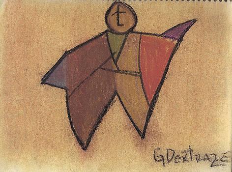 Cubist - Mustafa by Geoffroy Dextraze
