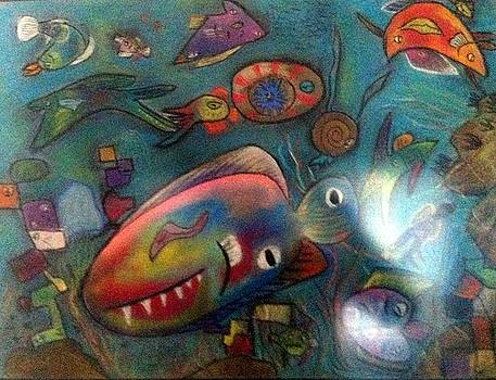 Cubist Fish by Andrew Blitman