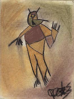 Cubist Man by Geoffroy Dextraze