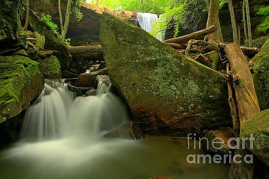 Adam Jewell - Cucumber Falls Cascades
