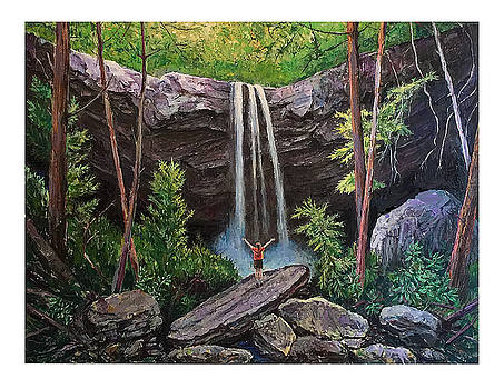 Cucumber Falls by Frank Harris