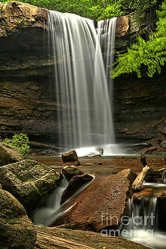 Adam Jewell - Cucumber Falls Plunge Cascades
