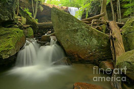 Adam Jewell - Cucumber Falls Stream
