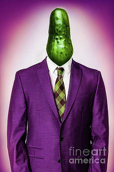 Cucumber Head by Juan Silva