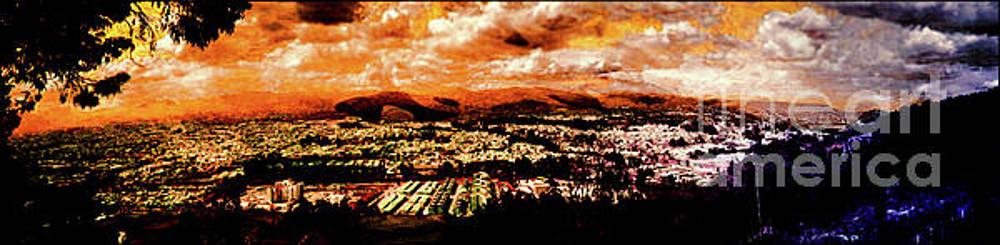 Cuenca, Ecuador - Panorama II by Al Bourassa
